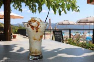 Camping L'esplanade : Restaurant coupe de glace - Camping Propriano