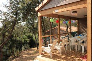 Camping L'esplanade : Chalet Plein Air 3 Ch - Camping Propriano