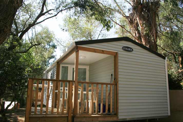 Camping L'esplanade : Mobil Home 2ch - Camping Propriano