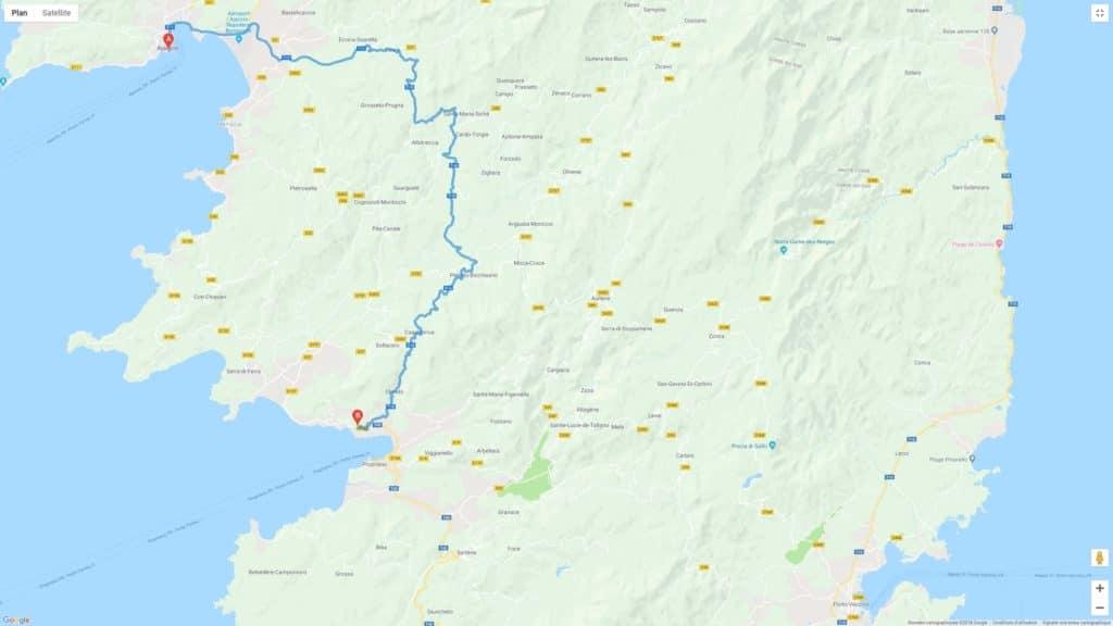 Camping L'esplanade : Itineraire 1024x576 1