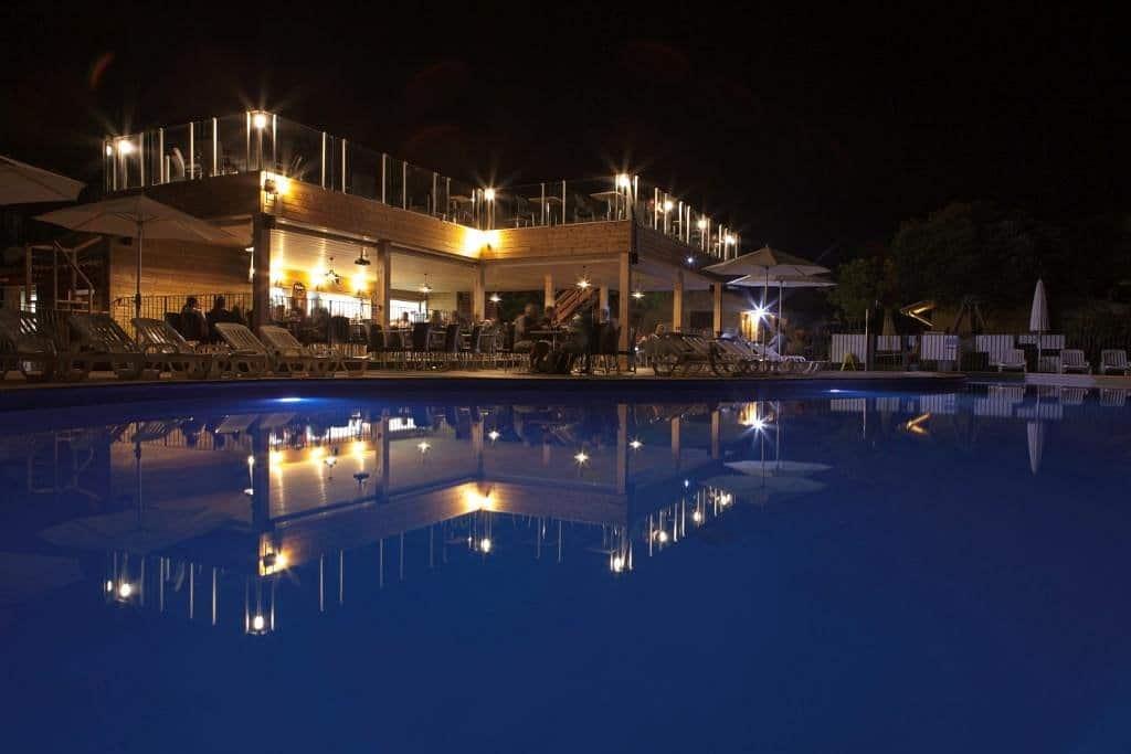 Camping L'esplanade : Le Restaurant La Nuit - Camping Propriano